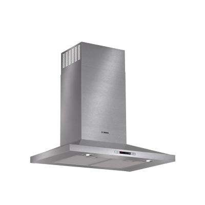 300 Series 30 in. Pyramid Style Canopy Range Hood with Lights in Stainless Steel