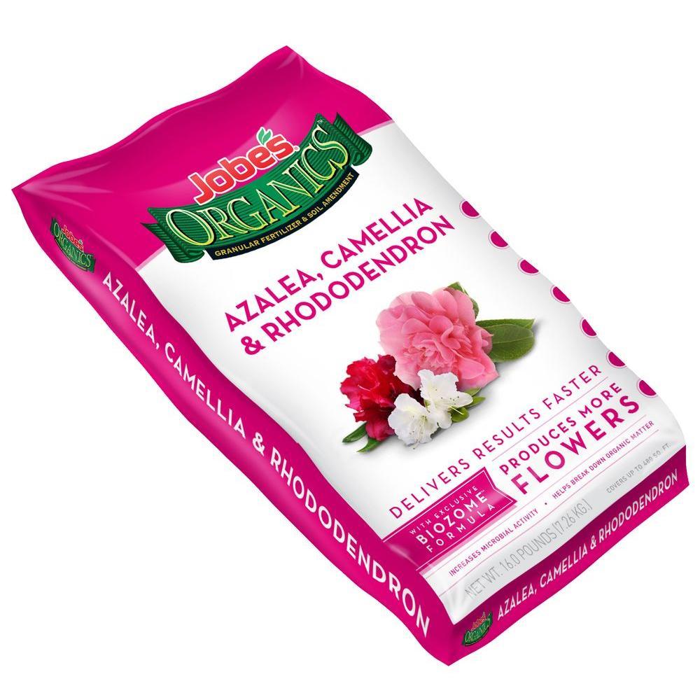 Organic 16 lb. Granular Azalea/Camellia/Rhododendron Fertilizer