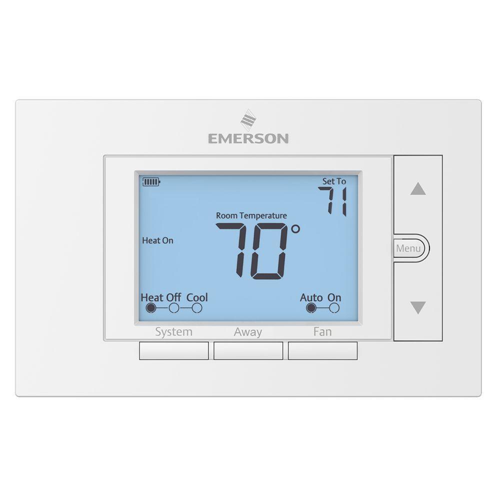 Emerson Non-Programmable Digital Thermostat
