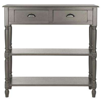 Salem Grey Storage Console Table