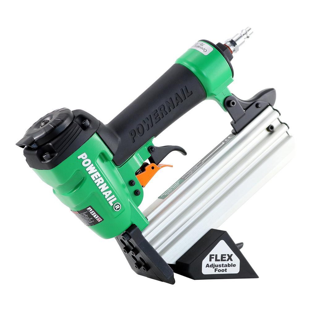 Pneumatic 20-Gauge Hardwood Flooring Trigger Pull Cleat Nailer Kit