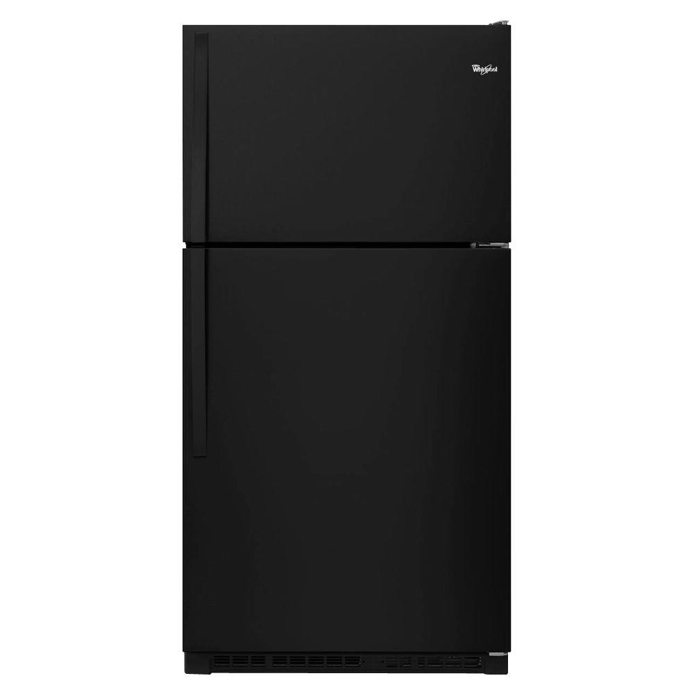 Whirlpool 33 in. W 20.5 cu. ft. Top Freezer Refrigerator ...