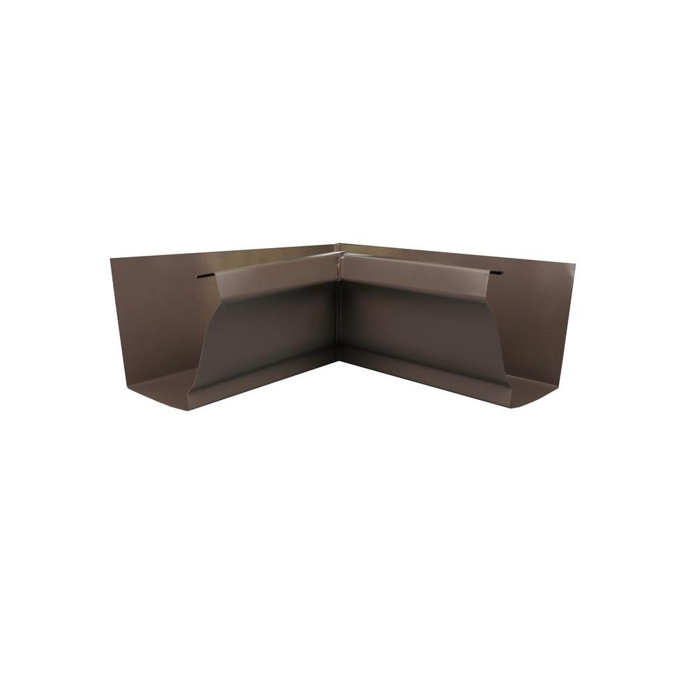 6 in. Musket Brown Aluminum Inside Box Miter