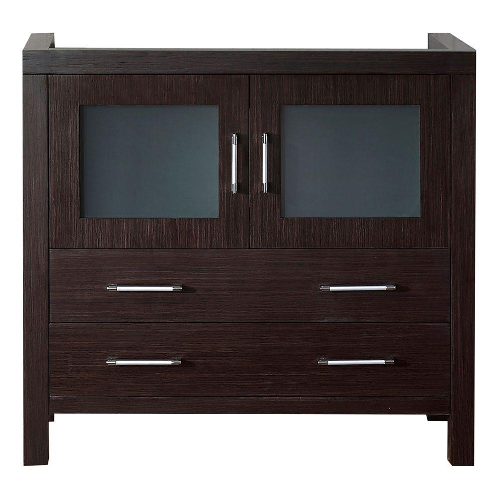W Bath Vanity Cabinet Only In Espresso