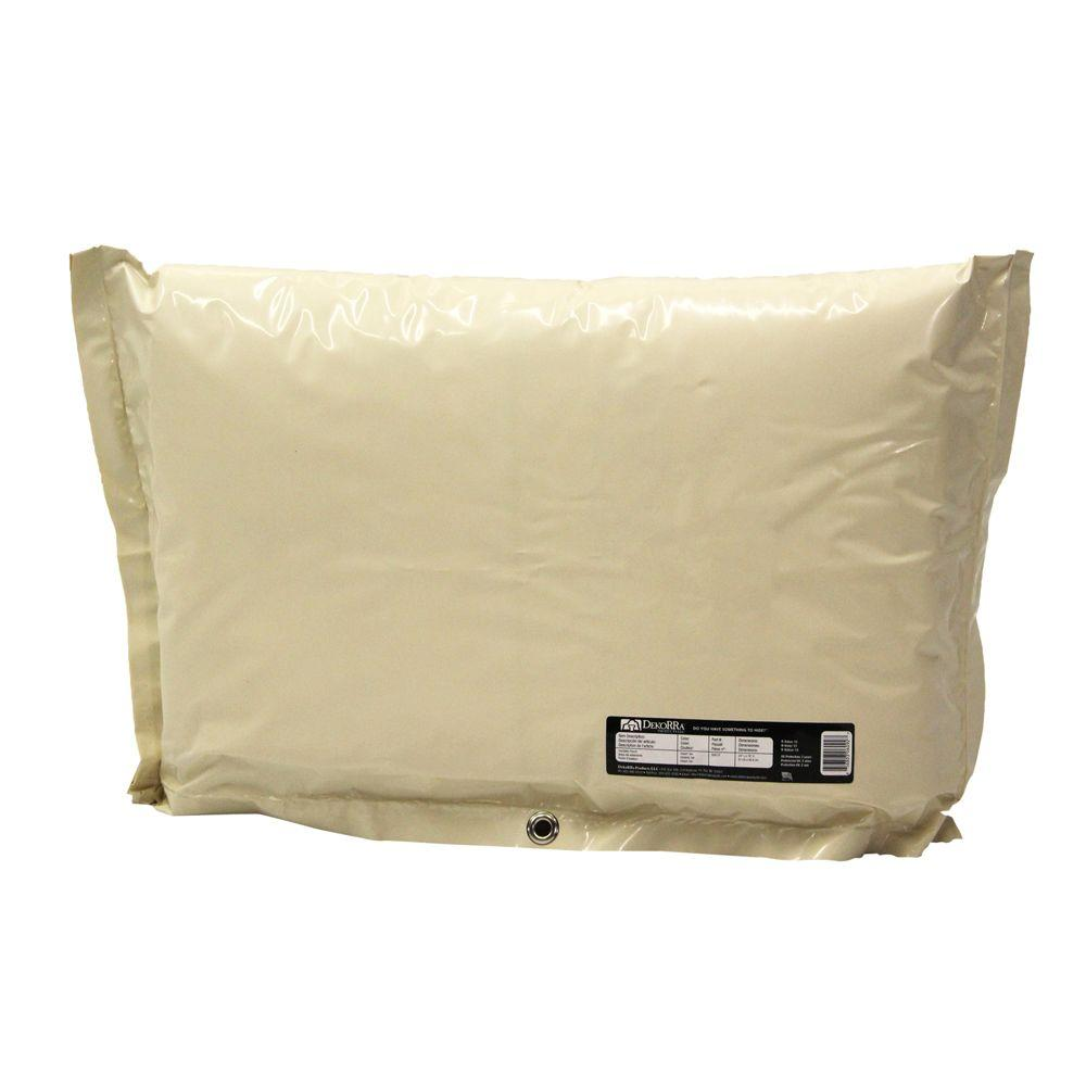 Dekorra 24 in. L x 16 in. H Small Fiberglass Encapsulated Tan Plastic Insulation Pouch