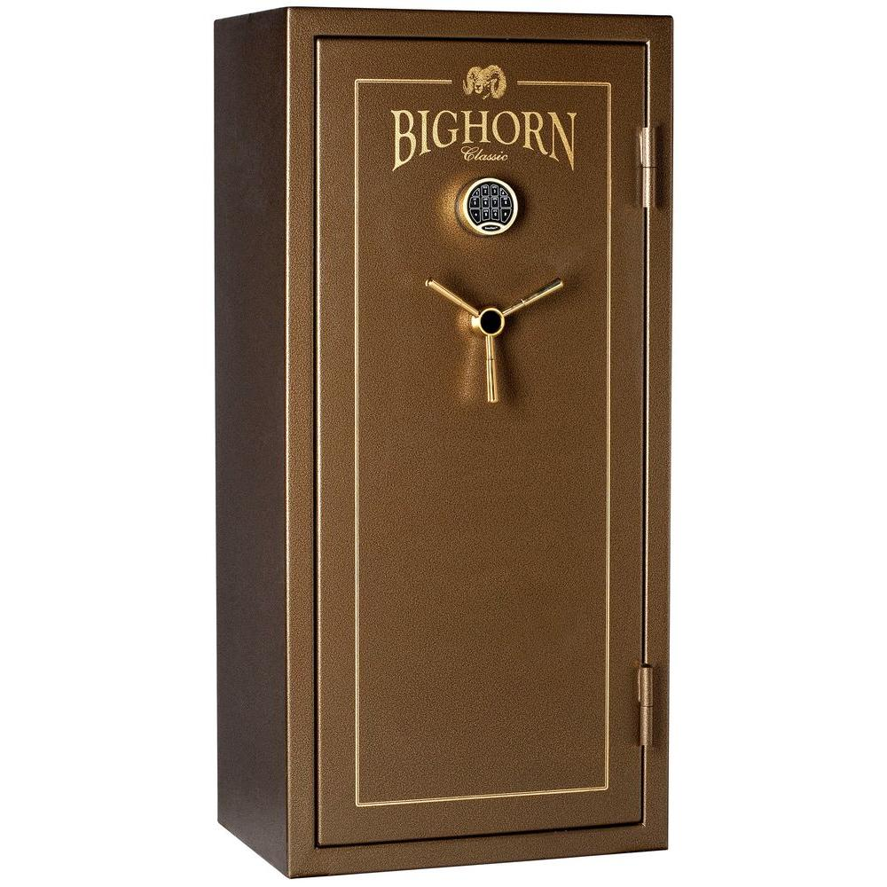Bighorn Safe Classic 19.12 cu. ft. 24-Gun 30 Minute Fire Safe