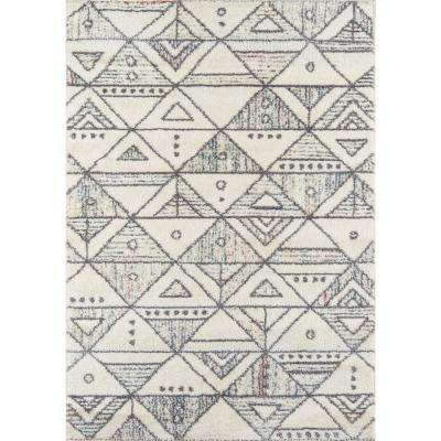 Lima Ivory 5 ft. x 8 ft. Indoor Area Rug