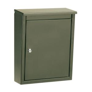 soho bronze wallmount mailbox - Wall Mount Mailboxes