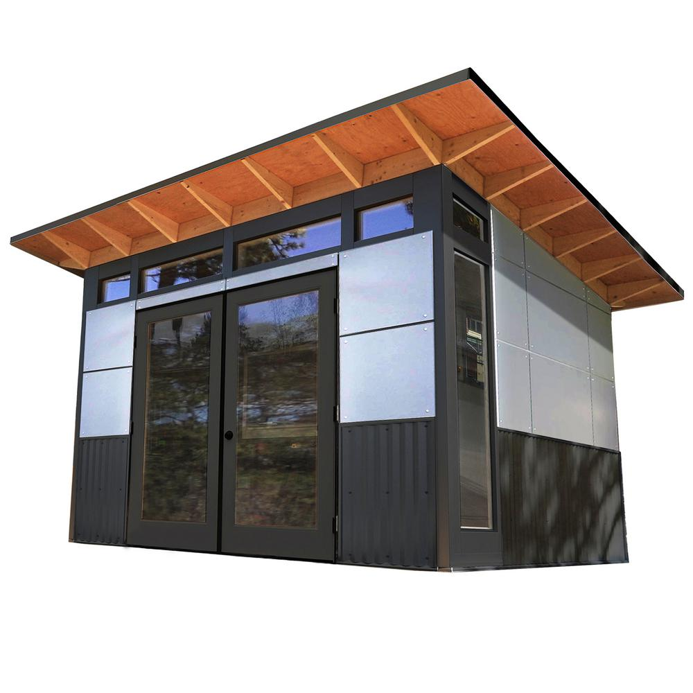 Home Depot Garages : Studio shed telluride ft residential quality