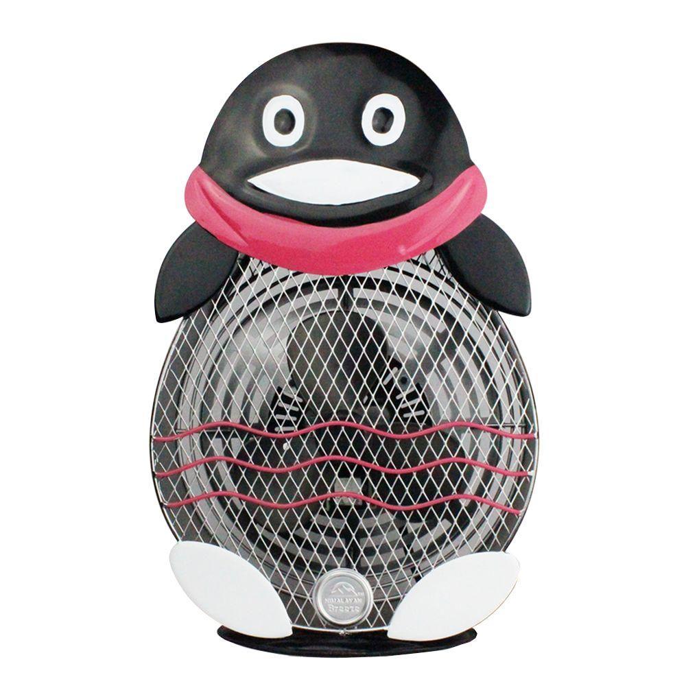 WBM Himalayan Breeze 10.2 in. Decorative Table Fan Penguin (Large)