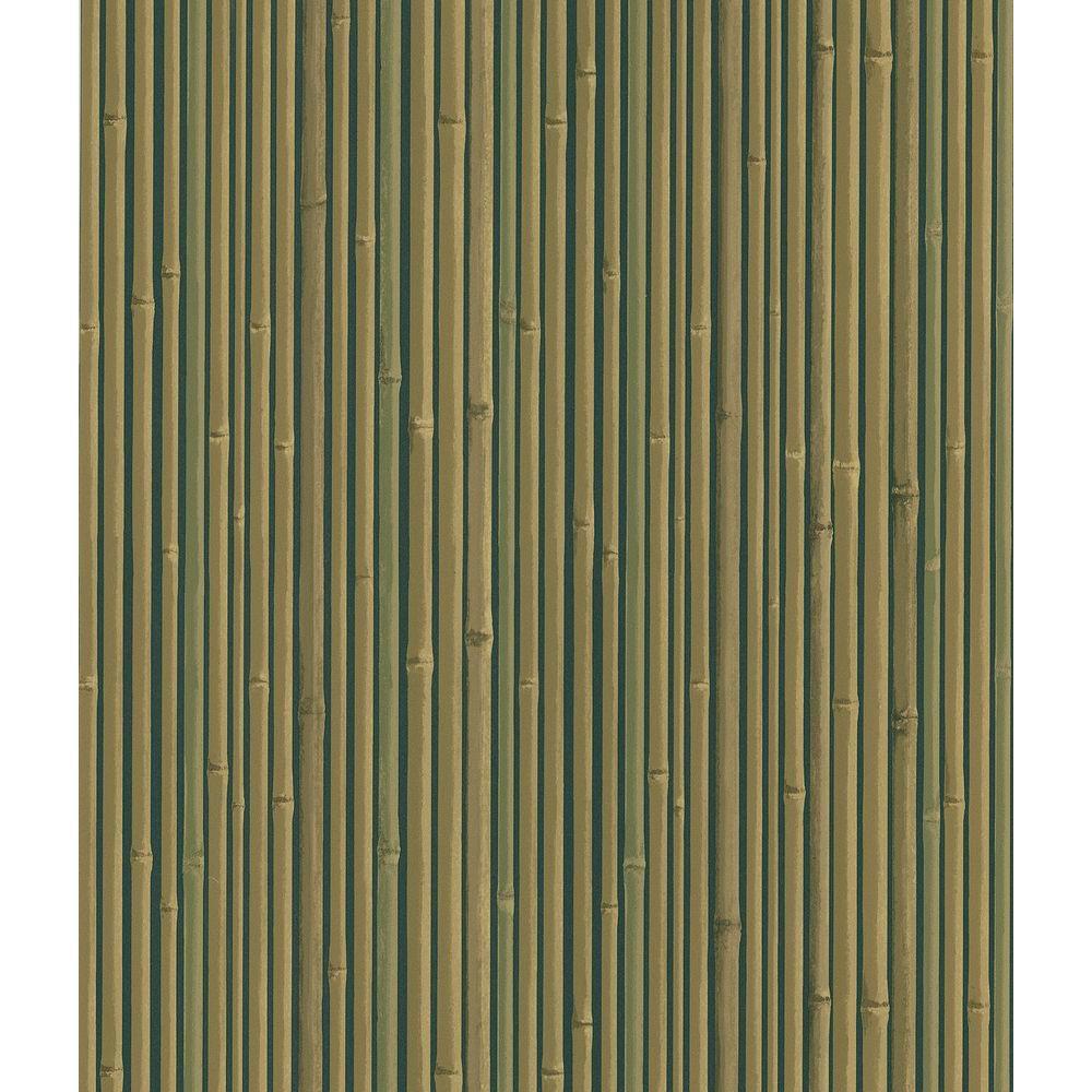 Kyoto Black Bamboo Wallpaper Sample