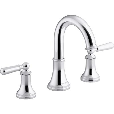 Capilano 8 in. Widespread 2-Handle Bathroom Faucet in Polished Chrome