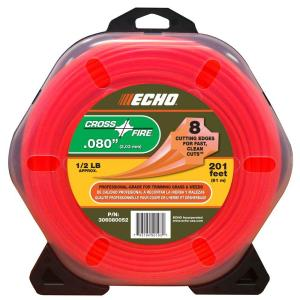 ECHO 1/2 lb. Donut 0.080 inch Cross-Fire Trimmer Line by ECHO