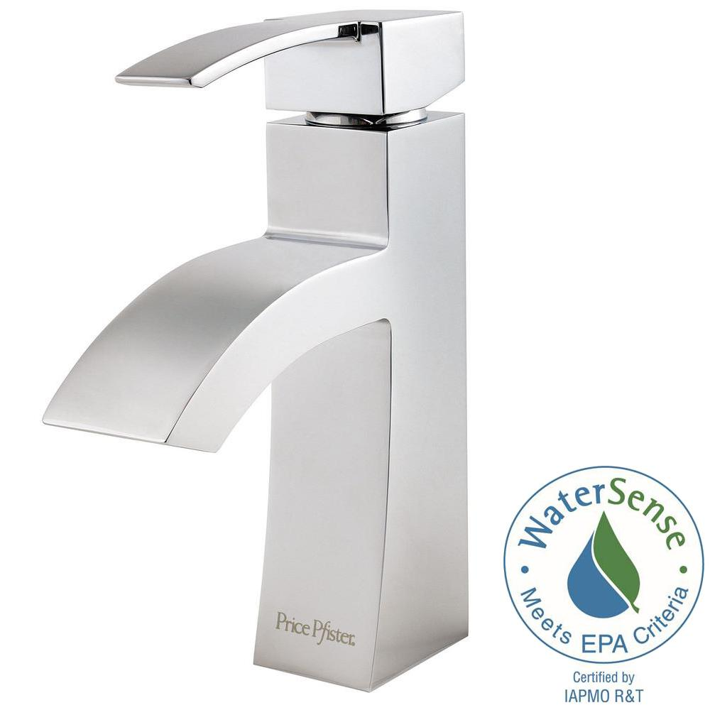 Pfister Bernini 4 In Centerset Single Handle Bathroom Faucet In