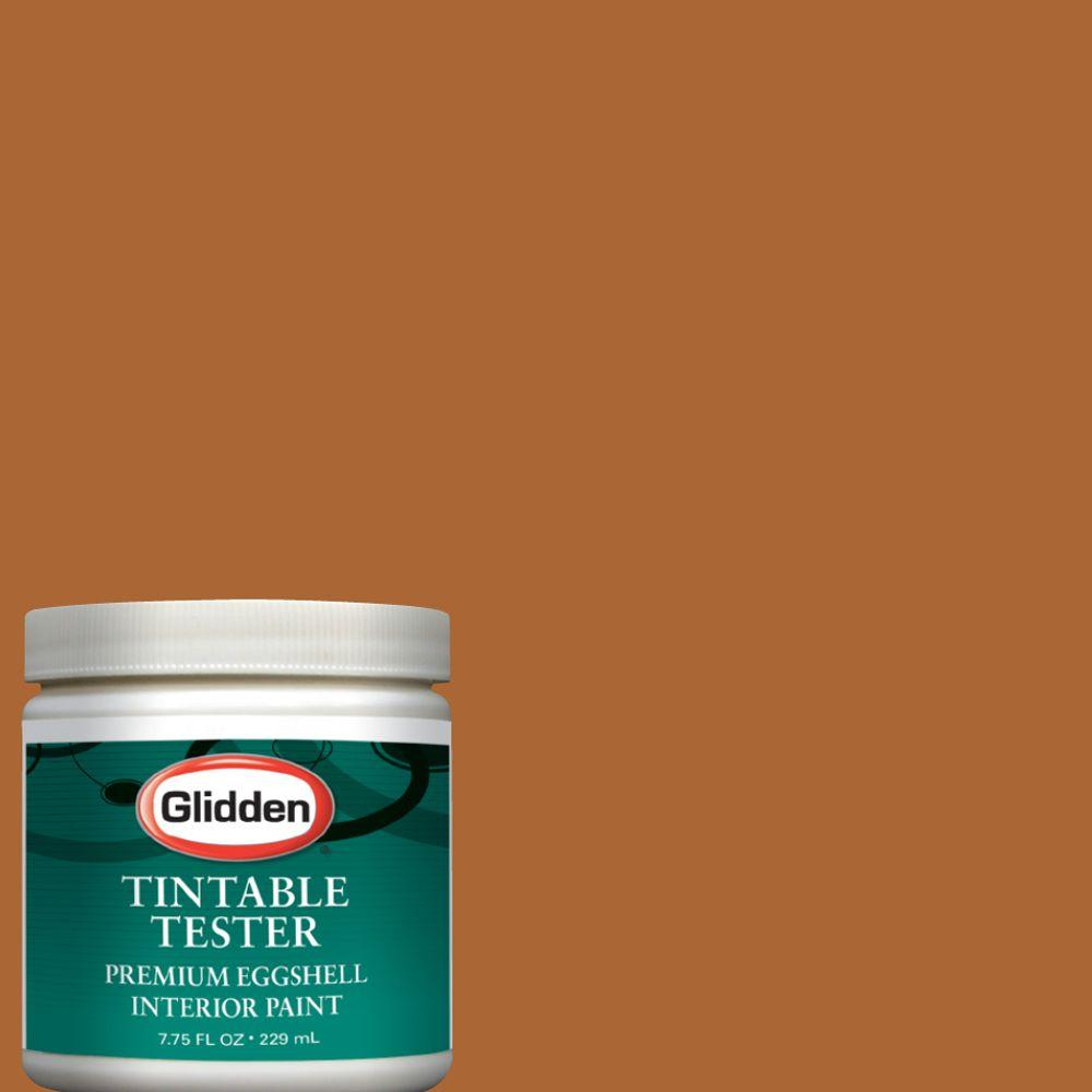 spiced gingerbread interior paint tester