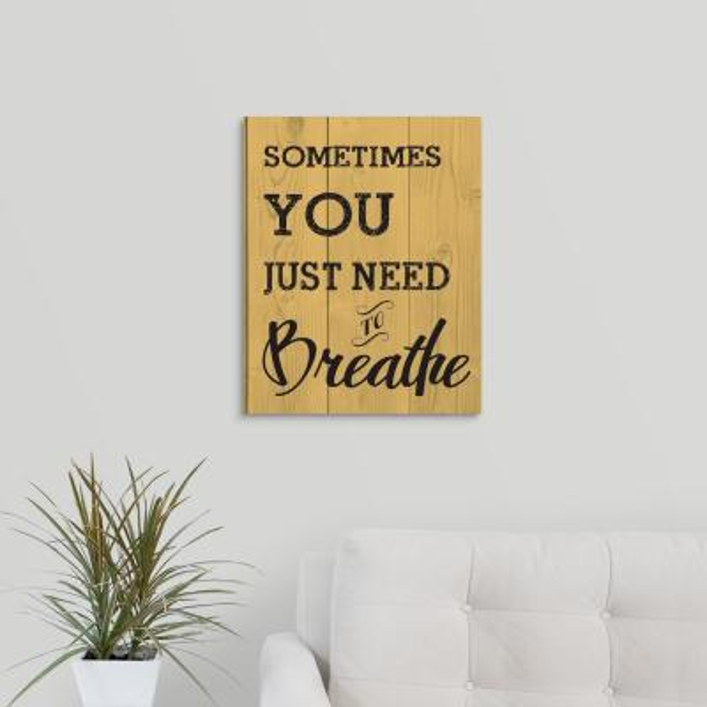 """Breathe"" by Melody Hogan Canvas Wall Art"