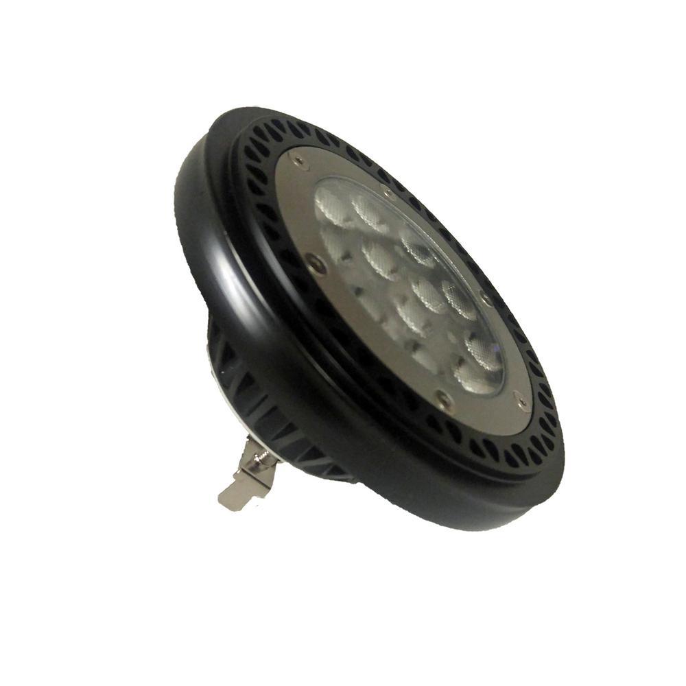 50-Watt Equivalent 38-Degree 2700K PAR36 Dimmable 12-Volt LED Light Bulb Warm White (1-Bulb)