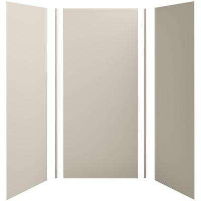 Choreograph 42in. x 36 in. x 96 in. 5-Piece Shower Wall Surround in Sandbar for 96 in. Showers