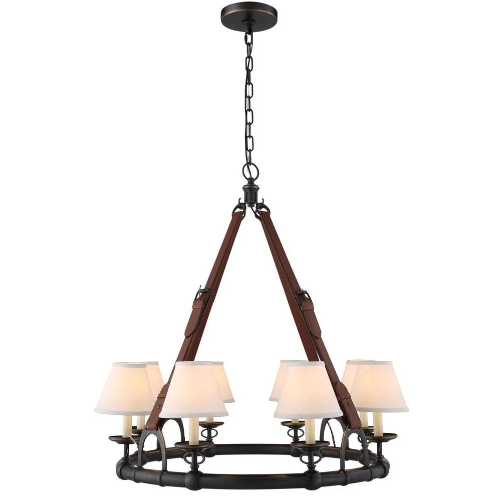 Elegant lighting vienna 8 light dark bronze pendant lamp 1453d32db cascade 8 light bronze pendant lamp arubaitofo Gallery