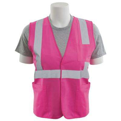S762P Small HVP Polyester Solid Safety Vest