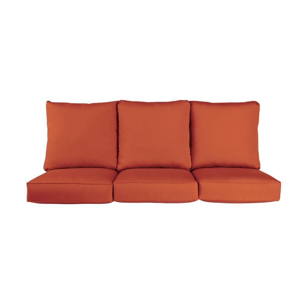 Brown Jordan Vineyard Replacement Outdoor Sofa Cushion in...