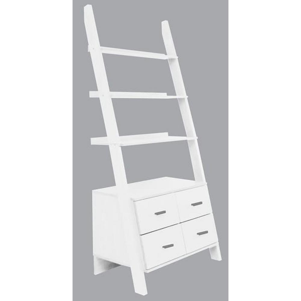 Ladder Shelf Living Room Drawer
