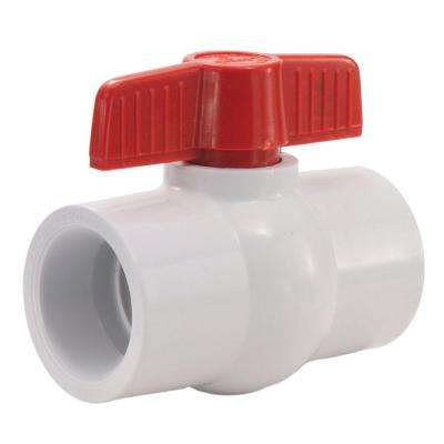 1-1/2 in. PVC Solvent Socket Ball Valve