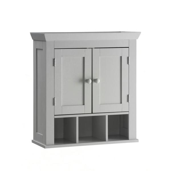Rancho 22.4 in. W Wall Cabinet in Gray