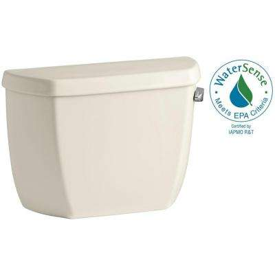 Wellworth Classic 1.28 GPF Single Flush Toilet Tank Only in Almond