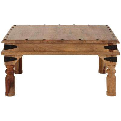 Fields Weathered Brown Coffee Table