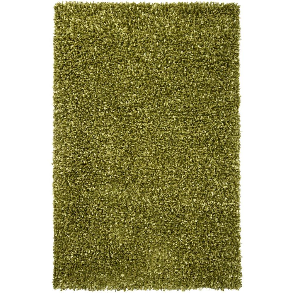 Chandra Riza Green 5 ft. x 7 ft. 6 in. Indoor Area Rug
