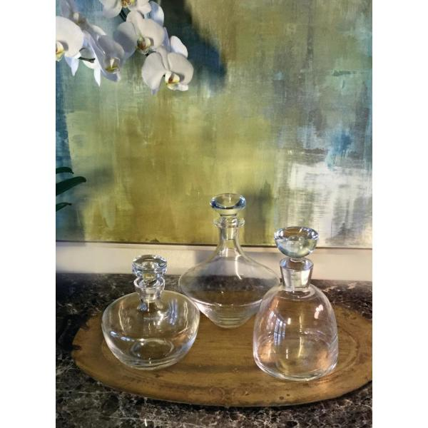 Abigails New Orleans 52 Oz Glass Decanter 164565 The Home Depot