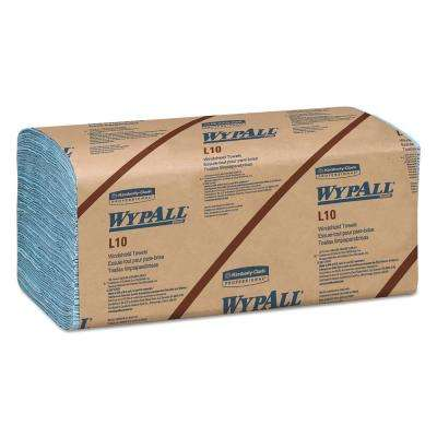 9 3/10 x 10 1/2 L10 Windshield Wipers, Banded, 2-Ply, 140/Pack, 16 Packs Per Carton