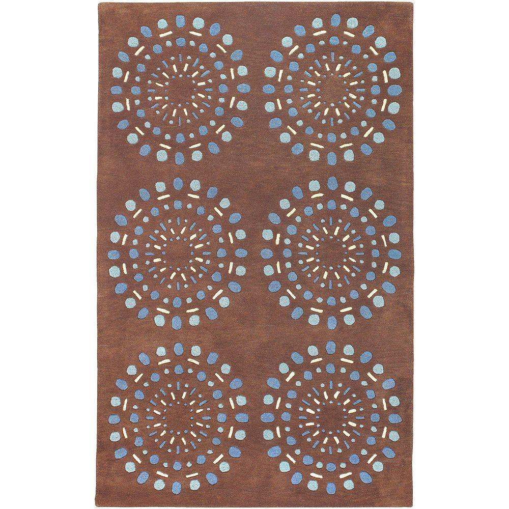 Artistic Weavers Colton Chocolate 9 ft. x 13 ft. Area Rug
