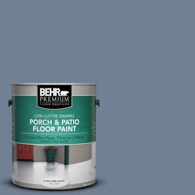 1 gal. #PPU15-07 Tranquil Pond Low-Lustre Porch and Patio Floor Paint