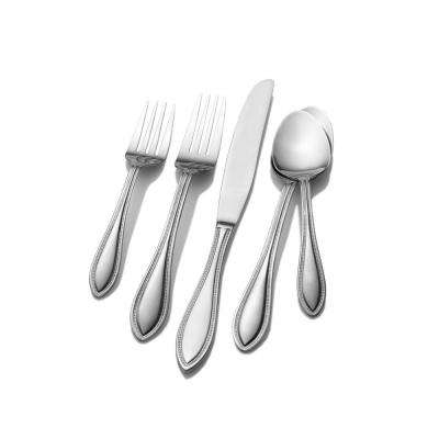 American Bead 24-Piece 18/0 Stainless Steel Flatware Set (Service for 4)
