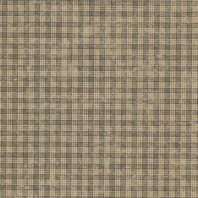 Sadie Black Cottage Plaid Wallpaper