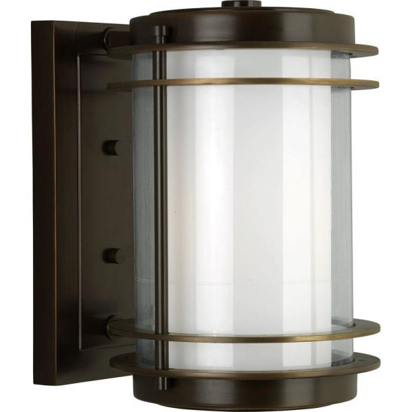 Penfield Collection 1-Light Oil Rubbed Bronze 11.75 in. Outdoor Wall Lantern Sconce