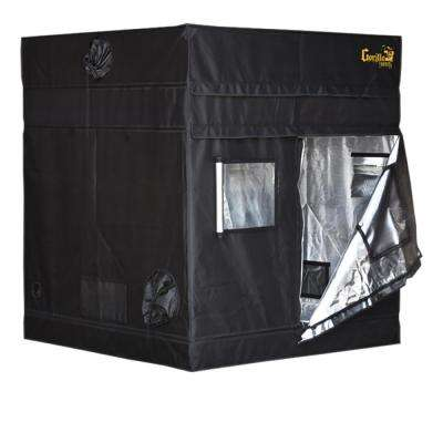 4 ft. x 4 ft. Black Shorty Grow Tent with 9 in. Extension Kit