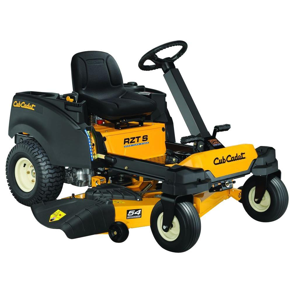Cub Cadet RZT-S 54 in. 25 HP Fabricated Deck KOHLER V-Twin Dual-Hydro Zero-Turn Mower with Cub Connect Bluetooth