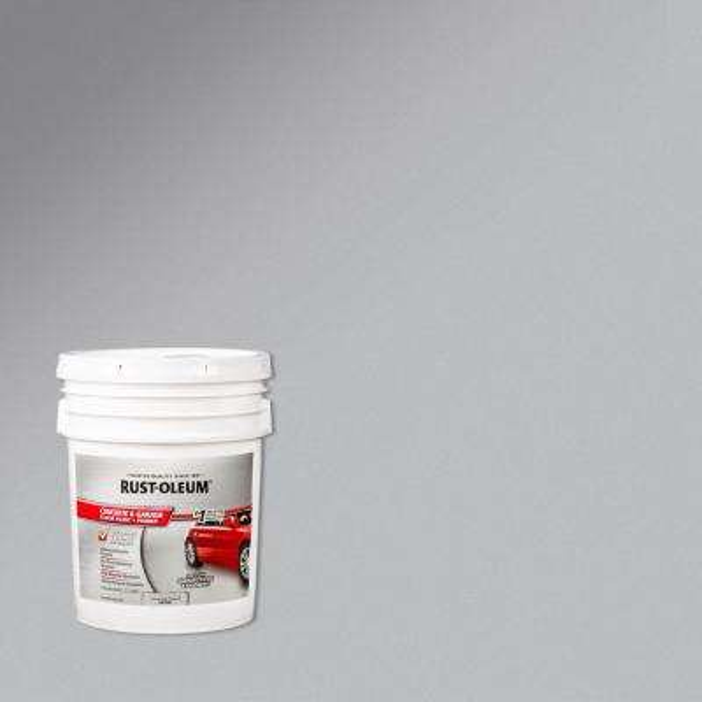 5 gal. Armor Gray Concrete Floor Paint