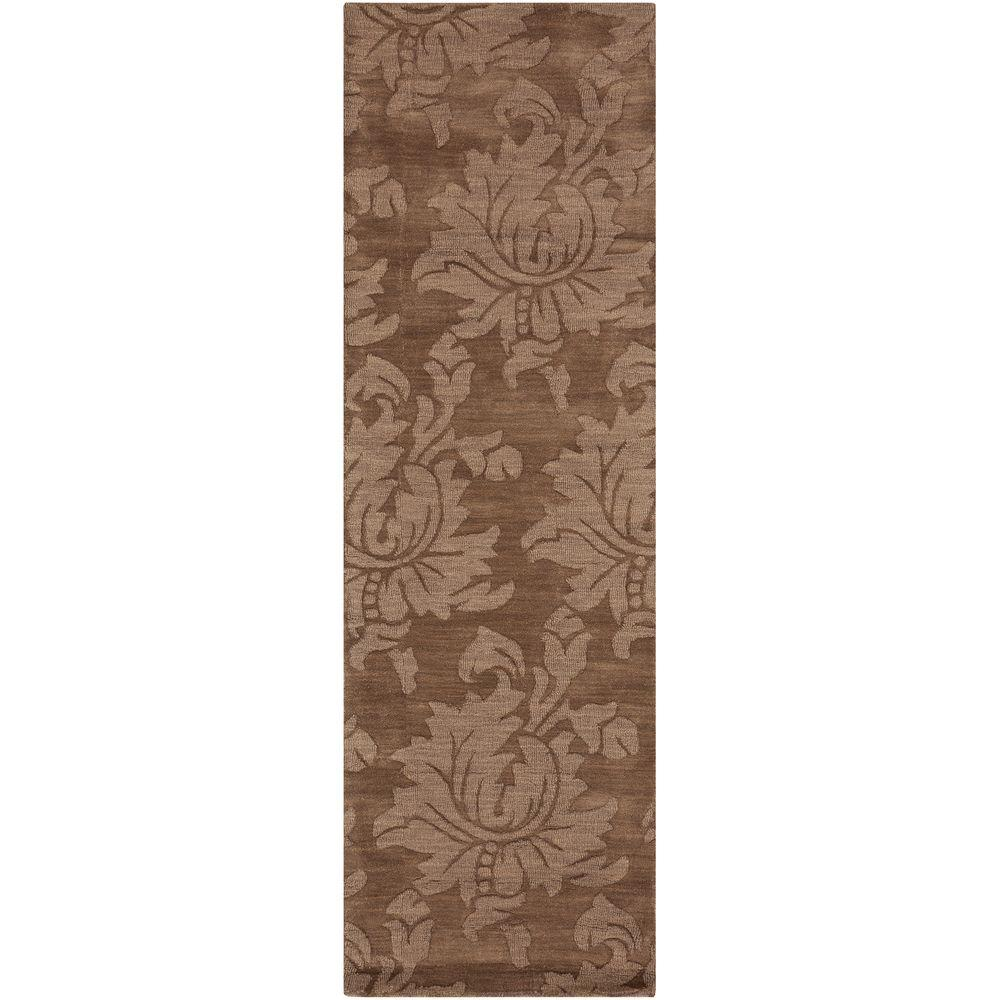 home decorators collection sofia brown 2 ft 6 in x 8 ft rug runner sop7000 268 the home depot. Black Bedroom Furniture Sets. Home Design Ideas