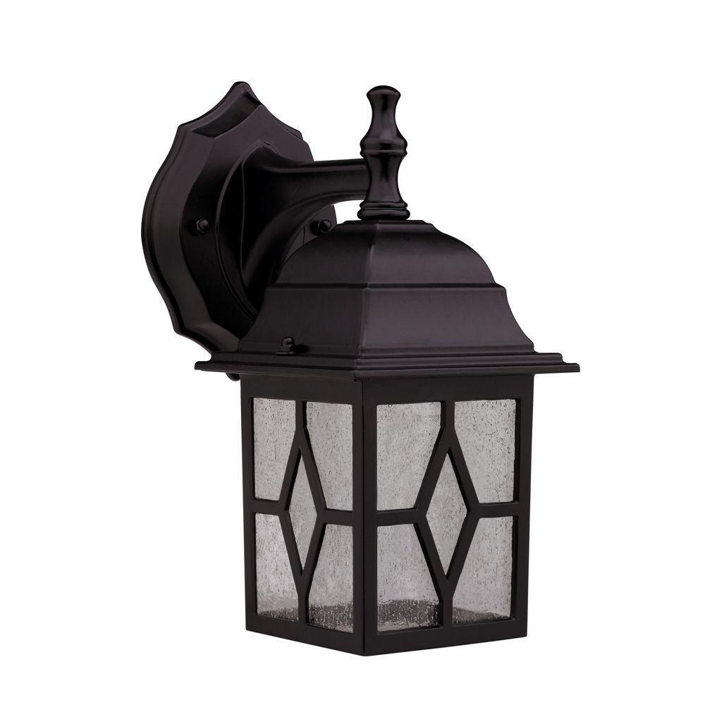 Chloe Lighting Transitional 1-Light 10.25 in. Outdoor Oil Rubbed Bronze Wall Sconce -DISCONTINUED