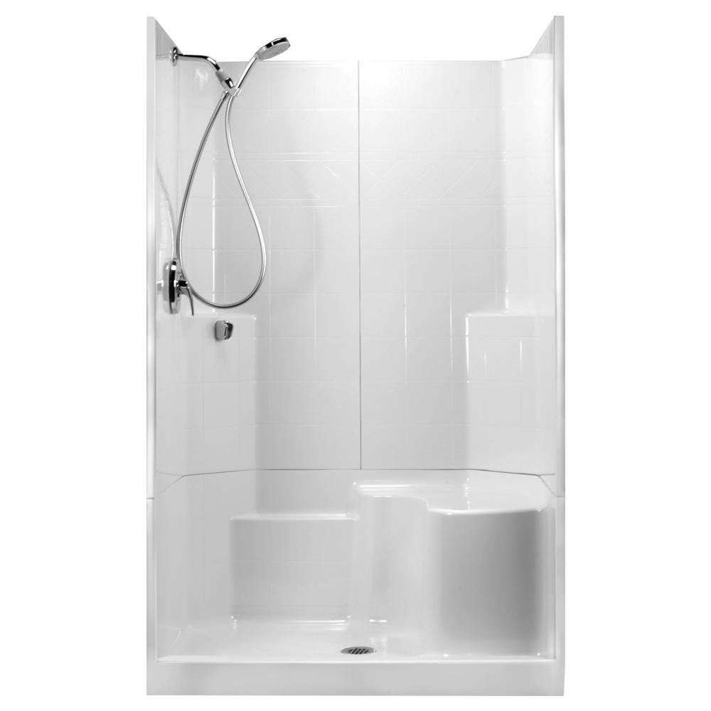 48 in. x 36 in. x 80 in. STD 3-Piece Low