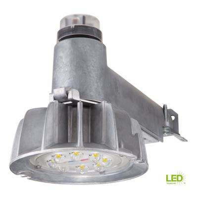 Aluminum Outdoor Integrated LED Dusk to Dawn Area Security Light at 5000K Daylight with Photocell Sensor