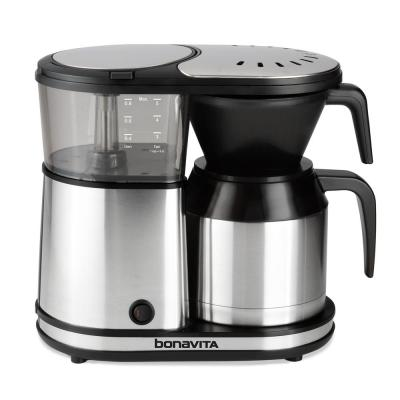 5-Cup Stainless Steel Drip Coffee Maker with Automatic Shut-Off