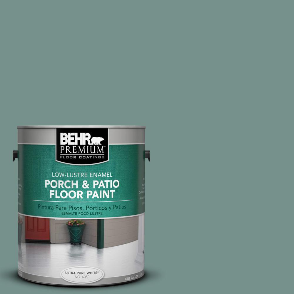 1 gal. #S430-5 Longmeadow Low-Lustre Porch and Patio Floor Paint