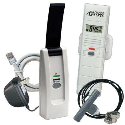 Wireless Temperature and Humidity Monitor System with Hot Tub Accessory Set