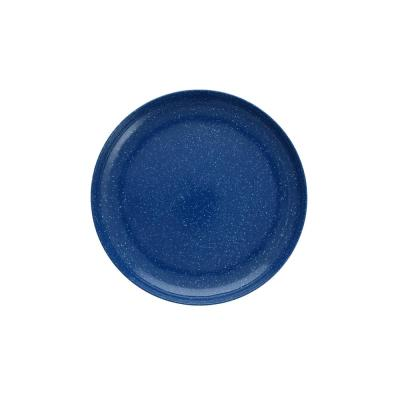 Camp Melamine Dinnerware & Serveware (Dinner Plates (Set of 6), Blue Speckle)