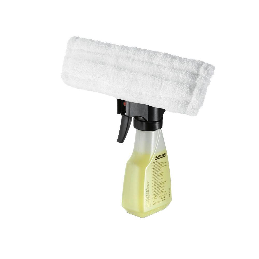 Karcher 12 Fl Oz Window Vacuum Spray Bottle With Removable Microfiber Pad